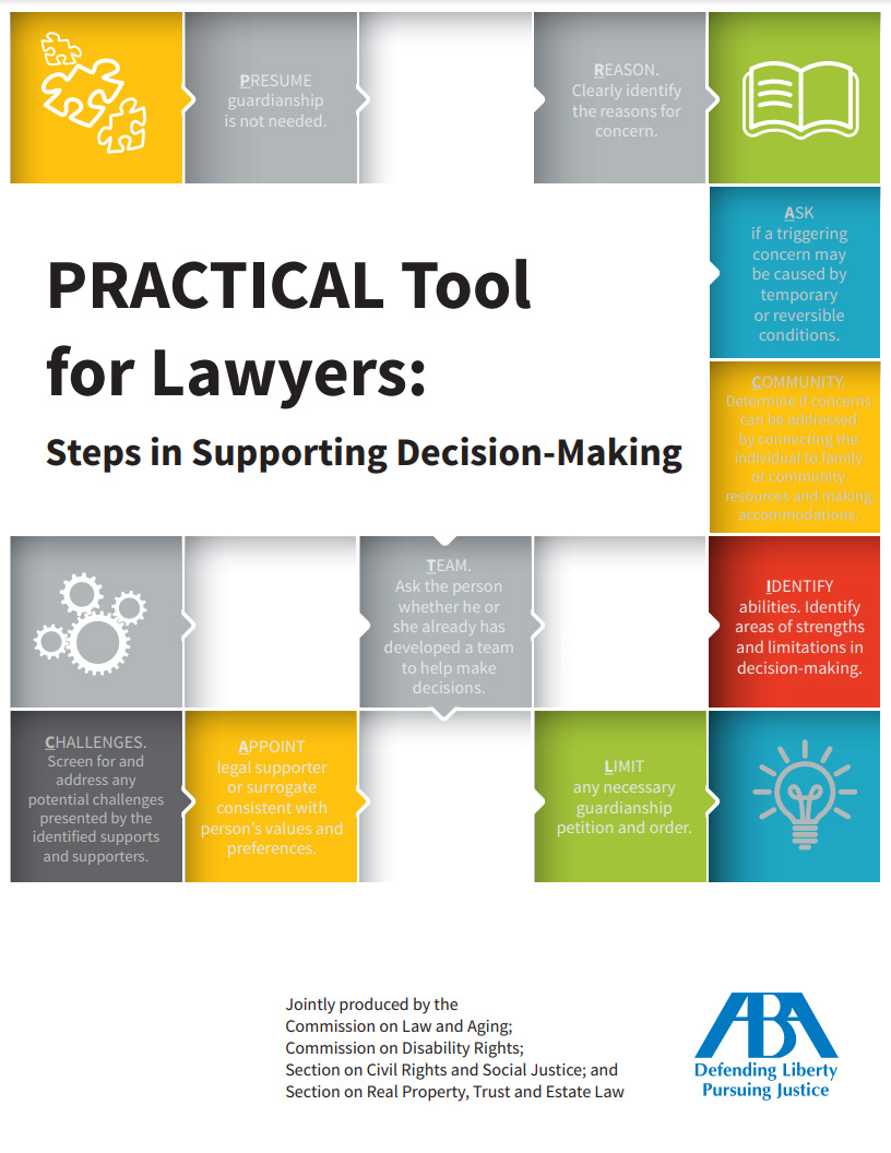 Cover art for: Steps In Supported Decision Making Tool For Lawyers