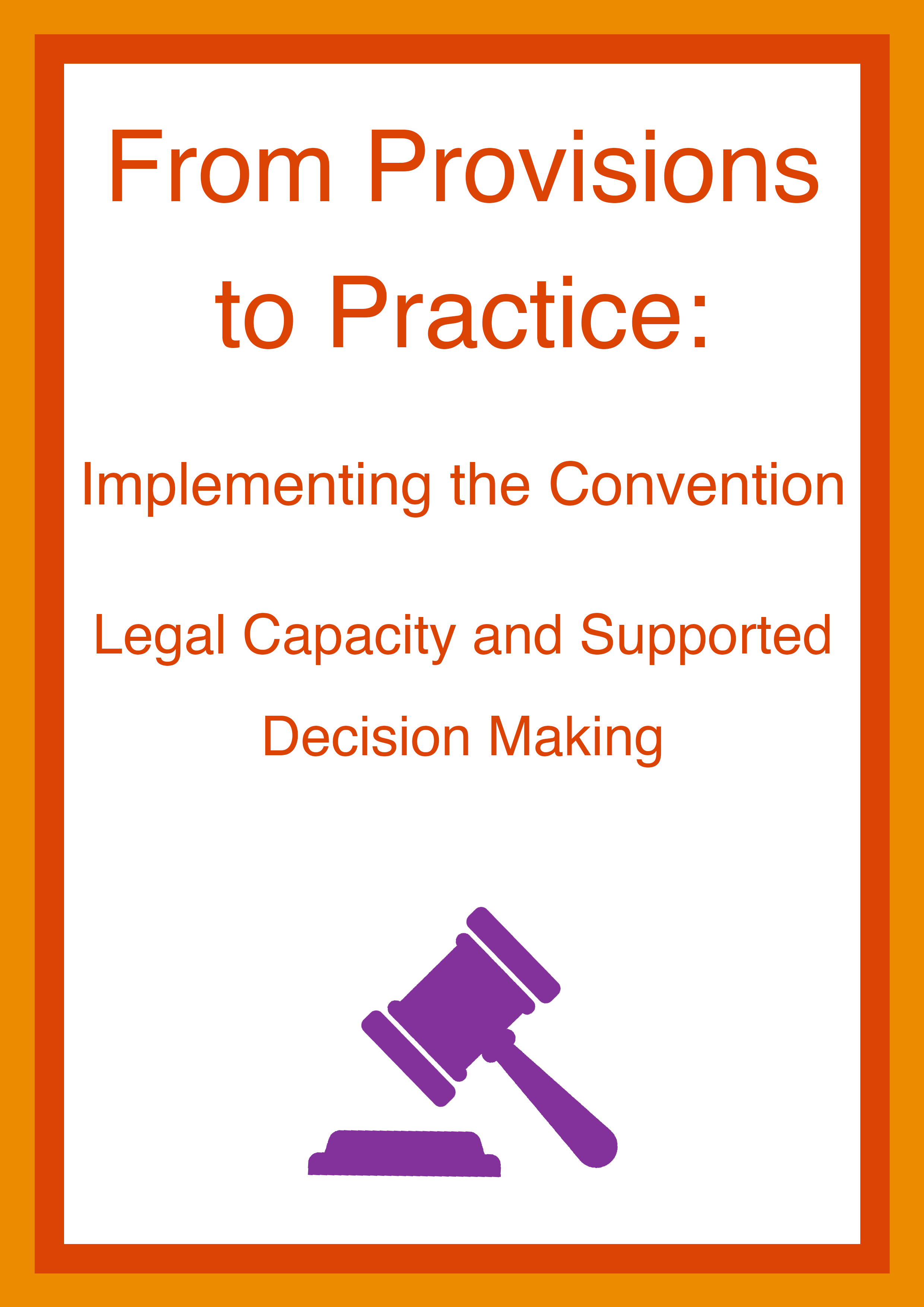 Cover art for: From Provisions to Practice: Implementing The Convention