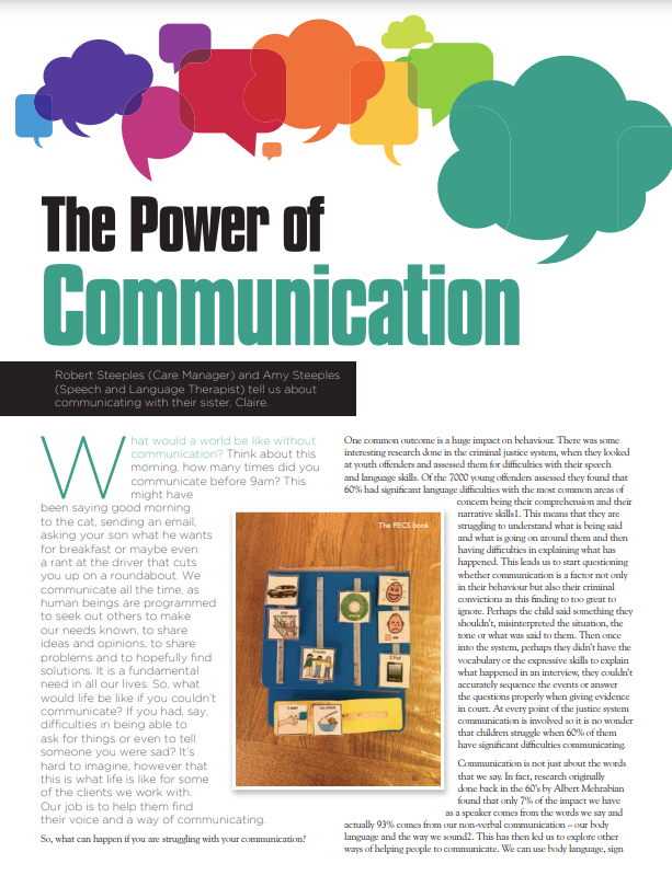 Cover art for: The Power of Communication